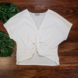 Zara Twisted Front Top